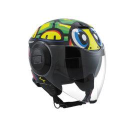 casque jet agv fluid tartaruga