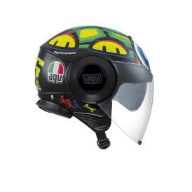 casque jet agv fluid tartaruga S