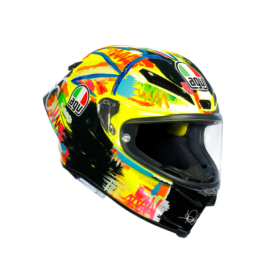 casque agv pista gp r rossi winter test 2019