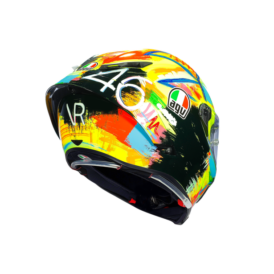 casque agv pista gp r rossi winter test 2019 b