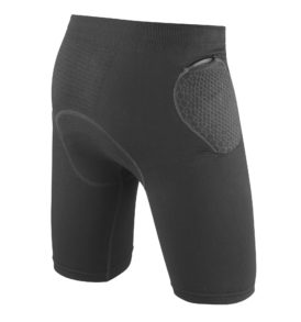 short dainese trailknit pro-armor b
