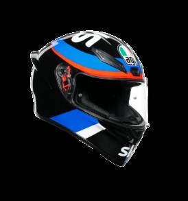 casque agv k1 sky racing team