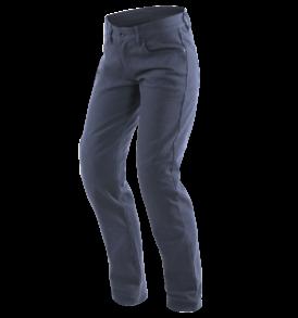pantalon dainese casual slim lady bleu