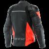Blouson dainese racing noir rouge fluo